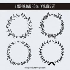 banners, doodle, and idea image Drawing Hands, Wreath Drawing, Doodles, Star Wars Poster, Bullet Journal Inspiration, Designs To Draw, Embroidery Patterns, Banners, How To Draw Hands