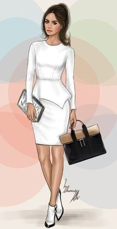 Fashion illustration by shamekh bluwi