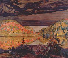 J. E. H. MacDonald October Shower Gleam - 1922