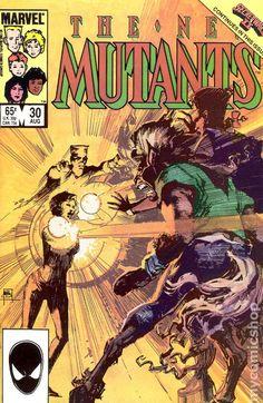 New Mutants (1983 1st Series) 30