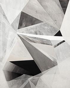 Geometric - this but using landscape shots of rock/mountains/rubble etc