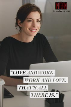 Meet Jules Ostin, the newest heroine from Nancy Meyers, the writer and director of IT'S COMPLICATED, THE HOLIDAY, and SOMETHING'S GOTTA GIVE. Starring Robert De Niro and Anne Hathaway, THE INTERN is a comedy about a retired widower who takes on a new role as an intern at an online fashion site. In theaters September 25, 2015.