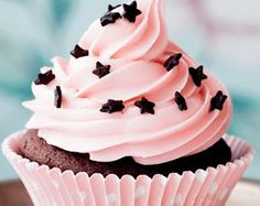 cupcake buttercream pink