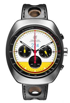 Officine Autodromo Offers Last Remaining Prototipo Chronograph Vic Elford Limited Edition At Bonhams, Fighting Domestic Violence - HODINKEE Dream Watches, Luxury Watches, Cool Watches, Watches For Men, Men's Watches, Fancy Watches, Amazing Watches, Beautiful Watches, Bracelet Nato