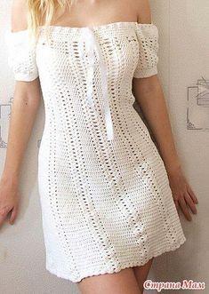 Ideas For Crochet Summer Dress Pattern Fashion Crochet Summer Dresses, Summer Dress Patterns, Crochet Skirts, Crochet Fabric, Crochet Clothes, Crochet Lace, Crochet Outfits, Doilies Crochet, Blanket Crochet