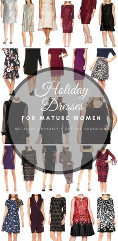 25 Holiday Dresses for Mature Women | Buy Now Before They Sell Out http://amzn.to/2hEIdRU #FashionforMatureWomen #MatureWomen #Womenover45 #Womenover50 #Womenover55 #Womenover60 #Womenover65 #fashionover45 #Fashionover50 #Fashionover55 #Fashionover60 via @stillblondeaaty
