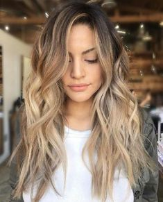 New hair styles fancy perfect ponytail Ideas Braided Hairstyles Updo, Hairstyles With Bangs, Trendy Hairstyles, Blonde Hair With Highlights, Brown Blonde Hair, Medium Hair Styles, Curly Hair Styles, Natural Hair Styles, Hair Medium