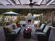 Image result for retaining wall fireplace
