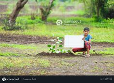 boy sitting in farm and holding white board Photo Agriculture Photos, 3d Assets, Adobe Xd, Icon Pack, Photo Illustration, Free Design, Vector Free, Hold On, Animation