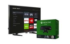 Here is a pretty good deal if you want the older Xbox One model and a new TV.