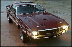 1969 Shelby GT500 428 CI, 4-Speed