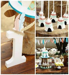 Pow Wow 1st Birthday Party via Kara's Party Ideas | The Place for ALL THNGS PARTY! KarasPartyIdeas.com (1)
