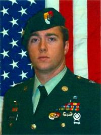 Army Sgt. 1st Class Justin S. Monschke  Died October 14, 2007 Serving During Operation Iraqi Freedom  28, of Krum, Texas; assigned to 2nd Battalion, 3rd Special Forces Group (Airborne), Fort Bragg, N.C.; died Oct. 14 in Arab Jabour, Iraq, of wounds sustained when an improvised explosive device detonated near his unit while on patrol during combat operations.