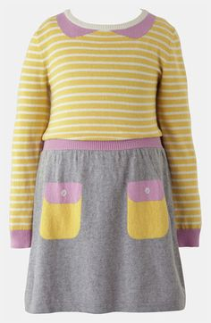 Mini Boden Knit Dress (Toddler) available at #Nordstrom