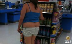 Not to critize those with a few extra pounds, but what's wrong with buying clothes that FIT!