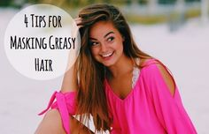 4 Tips for Masking Greasy Hair Greasy hair is a struggle for us all. They say you're not supposed to wash your hair every day, but when you don't, your hair becomes a greasy mess! Especially if you have thick hair like me, you know the struggle. If you have this problem too, here are 5 tips that will help you out!  Dry...  Read More at http://www.chelseacrockett.com/wp/beauty/4-tips-for-masking-greasy-hair/.  Tags: #Advice, #Babypowder, #Beauty, #Braids, #DrySh
