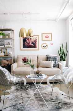 Cozy with a modern twist.