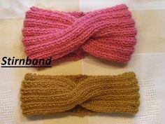 Knitting Patterns Headband DIY headband with TWIST knit for beginners & kids Fashion freaks - fed in winter - . Twist Headband, Diy Headband, Knitted Headband, Headband Tutorial, Bandeau Torsadé, Bandeau Large, Bonnet Crochet, Knit Crochet, Crochet Twist