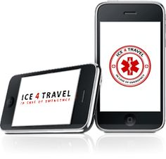 ICE 4 Travel - In Case of Emergency app that store critical medical info