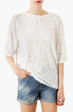 Girly relaxed tee