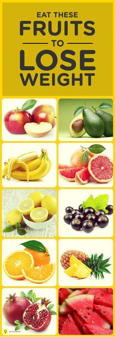 This is the first fruit to top the list and that too for a reason. It's simple. Because it is the best fruit for weight loss.