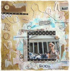 Mixed média and ROMA...:-)