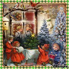 """For my dear friend Nettchen (lichtmehr) """"Christmas Eve"""""""