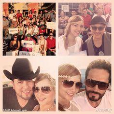 "Adamari López's, photo,""#FF y Gracias @FabianRiosS @Roberto__Tapia @H Agosto…"""