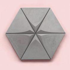 obklad z pohľadového betónu Concrete Tiles, Tile Design, Coasters, Inspiration, Self, Concrete Roof Tiles, Biblical Inspiration, Inspirational, Inhalation
