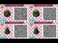 Animal Crossing New Leaf winter coat - open