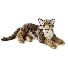 Leopard extra large soft plush toy - National Geographic