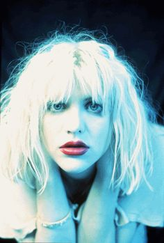 Courtney Love by Phil Nicholls. Nirvana, Courtney Love 90s, What A Beautiful Name, Frances Bean Cobain, Riot Grrrl, Love Posters, Coral, Love Photos, Love Hair
