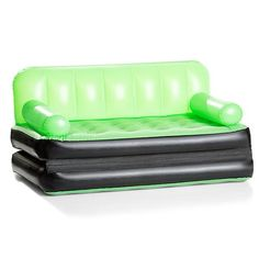 $25 - Multifunction Inflatable Couch - Green   Kmart