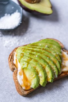 Honey Yogurt Avocado Toast is a sweet and savory way to fancy up your healthy breakfast!