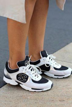 Sporty chanel #sneakers