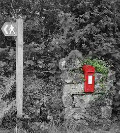 The Post Box Antique Mailbox, Post Box, Boxes, World, Antiques, Outdoor Decor, Nostalgia, Phone, Home Decor