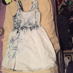 Acid washed dress Never been worn Rue 21 Dresses