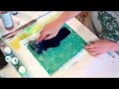 Gel Plate techniques.mov by Jane Davies