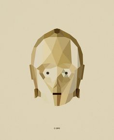 Star Wars Character Illustrations by Tim Lautensack, via Behance