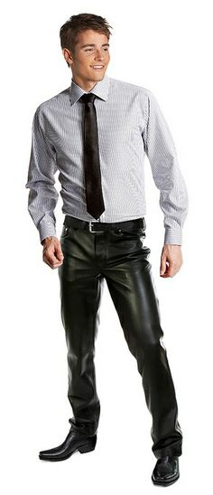c4d1c7a88a49a5 office guy in leather pants by Officeleather