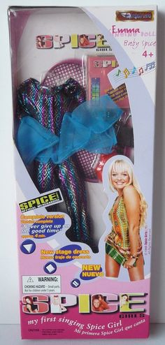 SPICE GIRLS BABY EMMA SINGING DOLL & ACCESSORY PACK BY STREET LIFE | eBay