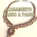 27 pages of beading jewelry tutorials in Portuguese