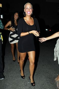 Scrumptious and Sexy Amber Rose ...Voguish mode...