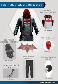 The Best Costume Guide of Red Hood Costume From Arkham Knight