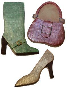 Crocodile Shoes & Bag Cookies