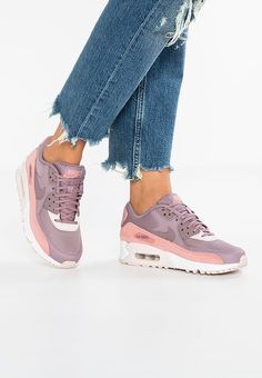 3c18d9da1930 AIR MAX 90 - Trainers - red stardust taupe grey silt red white
