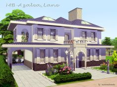 Details: Half closed entrance, hall, kitchen with dining-area, Found in TSR Category 'Sims 4 Residential Lots' Sims 4 House Plans, Sims 4 House Building, The Sims 4 Lots, Sims 4 House Design, Casas The Sims 4, Sims Four, Sims 4 Build, Sims 4 Houses, The Sims4