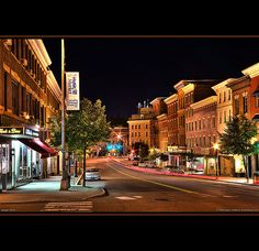 "Bangor, Maine - this is ""downtown"""