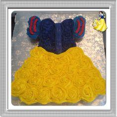 Snow White cupcake dress