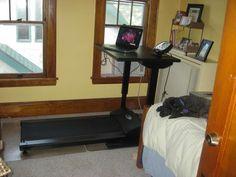Treadmill Desk, Adjustable Height Desk, Working Area, Gd, Simple, Furniture, Home Decor, Decoration Home, Room Decor